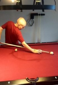 Alec Playing Pool